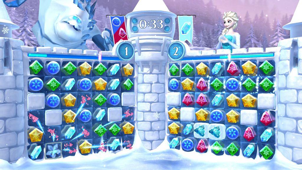 Screenshot aus Frozen Free Fall: Snowball