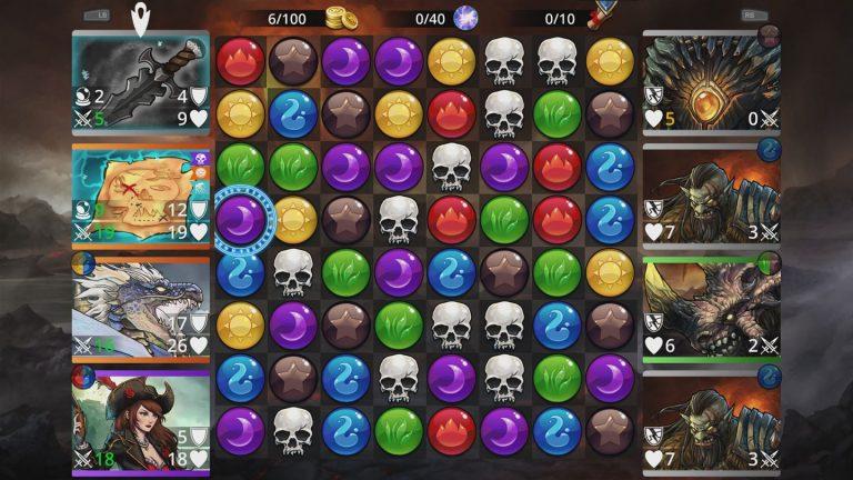 Screenshot aus Gems of War