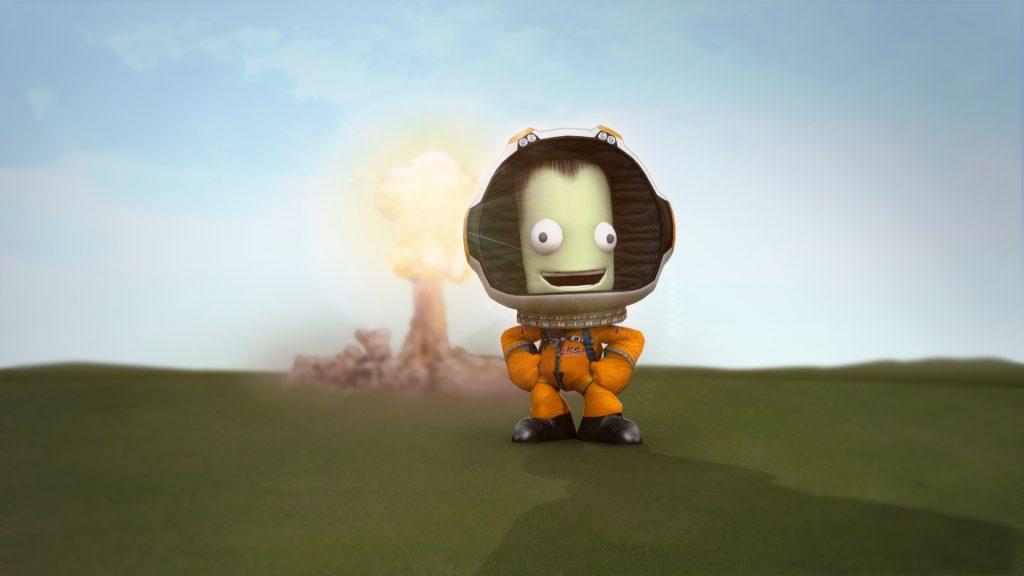 Screenshot aus Kerbal Space Program