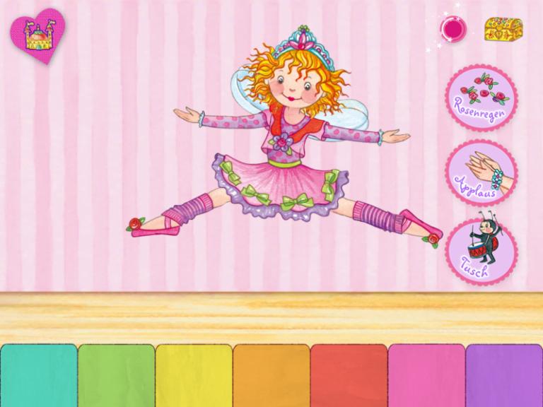 Screenshot Prinzessin Lillifee Ballettzauber