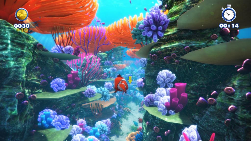 Screenshot aus Rush: A Disney-Pixar Adventure