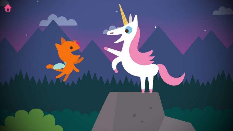 Screenshot aus Sago Mini Fairy Tales