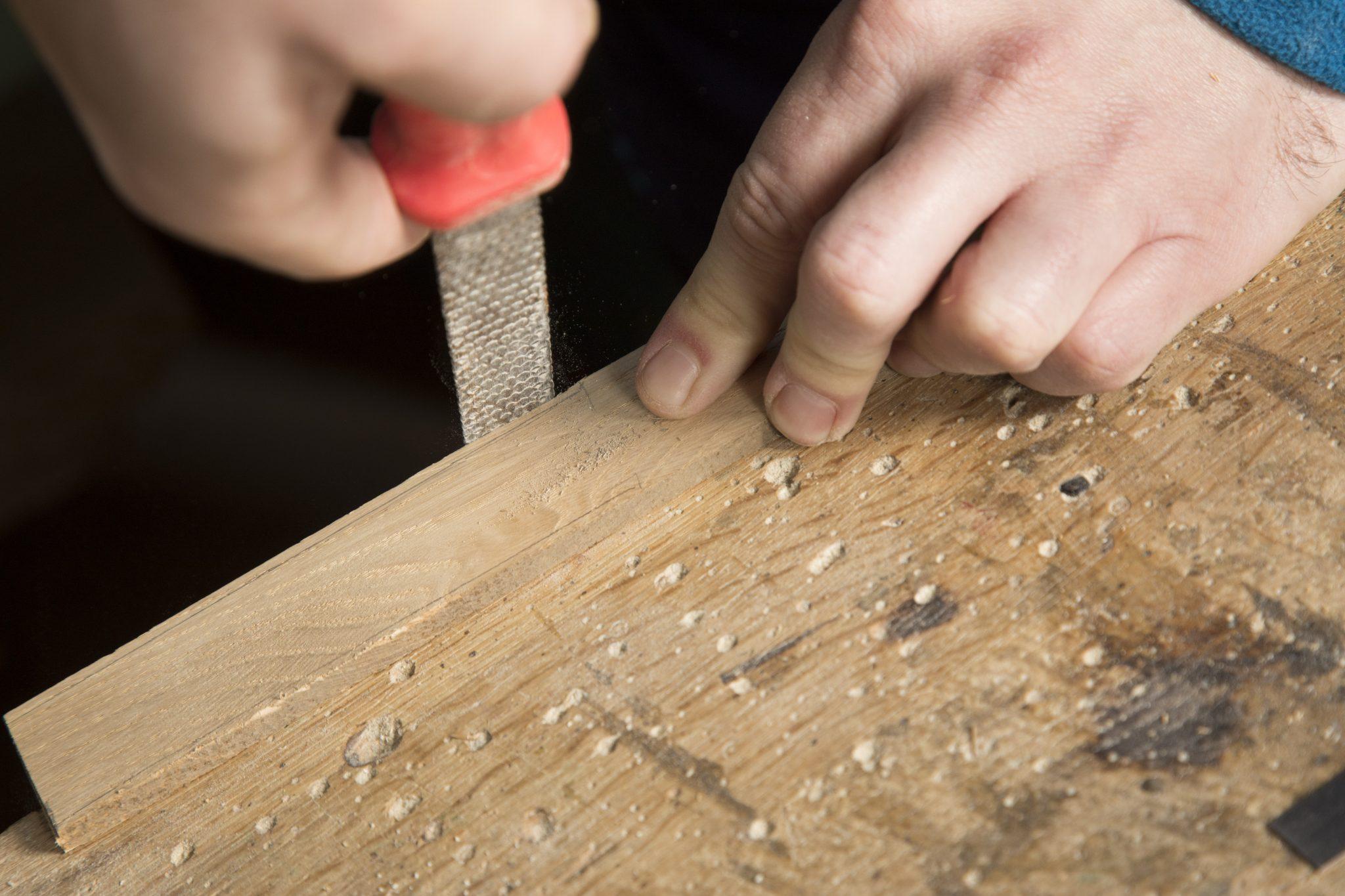 Osterratsche basteln DIY