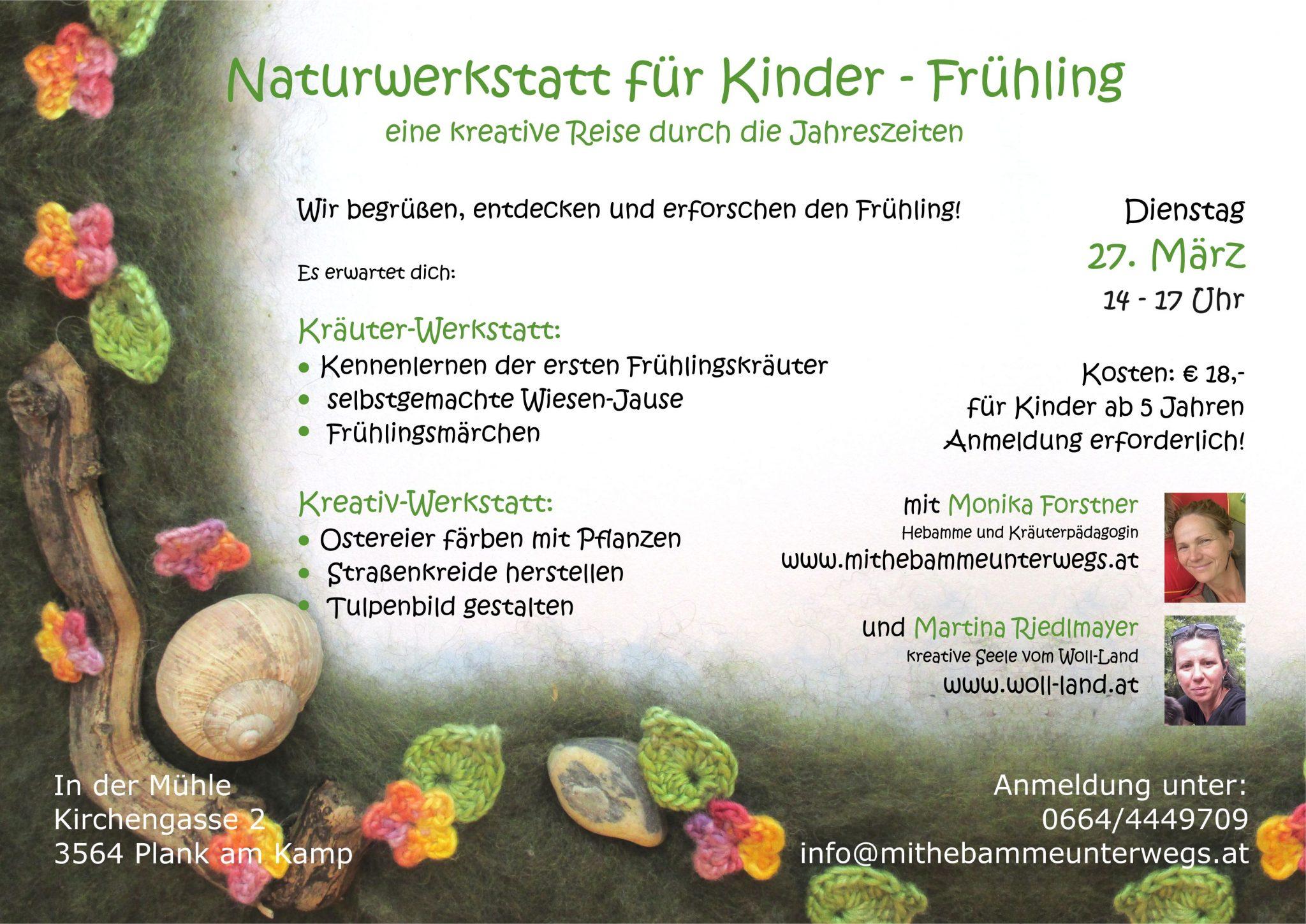 Naturwerkstatt für Kinder \