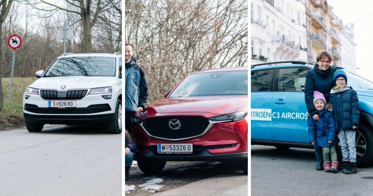 Autotest: Familienautos im Family-Check-up