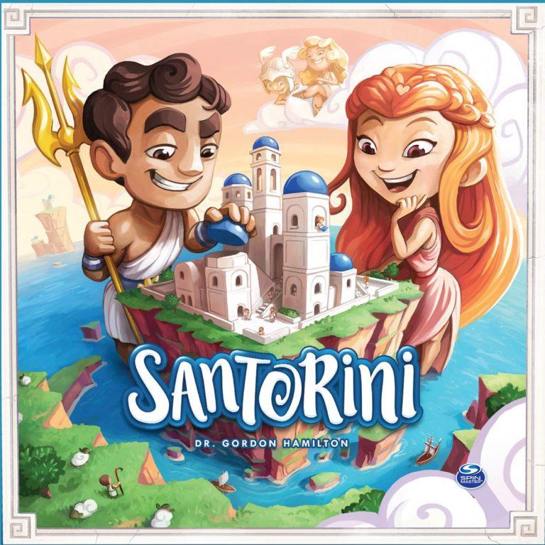 Santorini Logikspiel