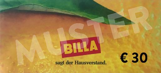 30€ Billa Gutschein