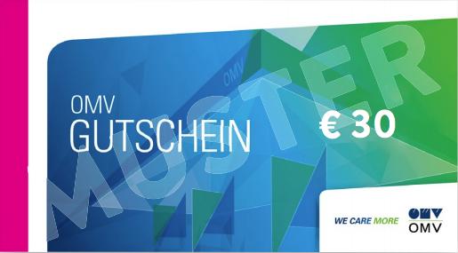 30€ OMV Gutschein