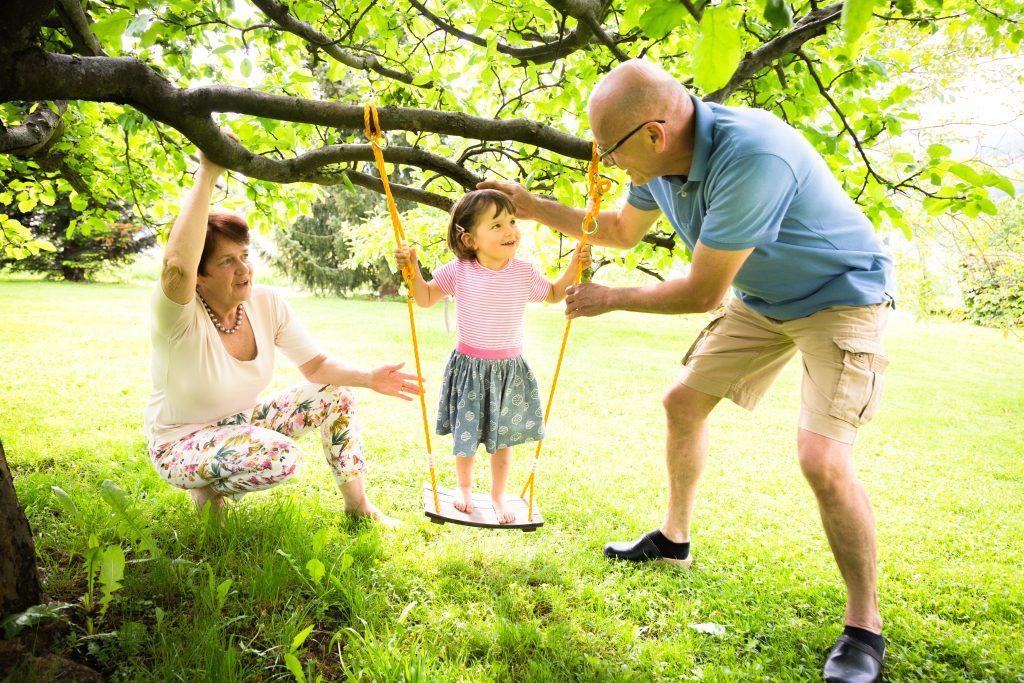 Großeltern wichtig für Kinder