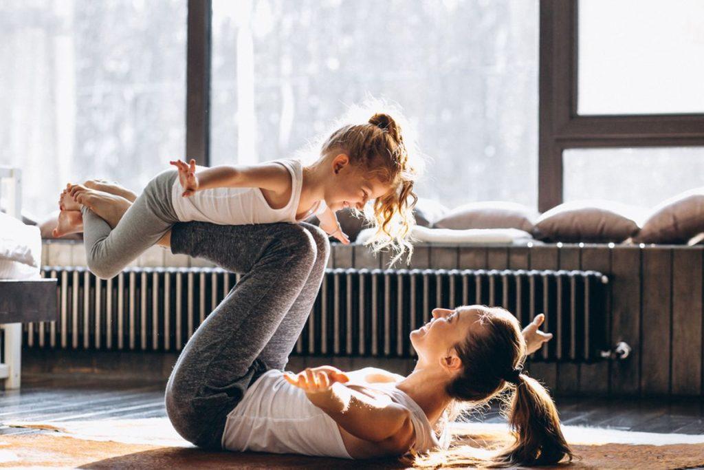Sport im Alltag Mütter