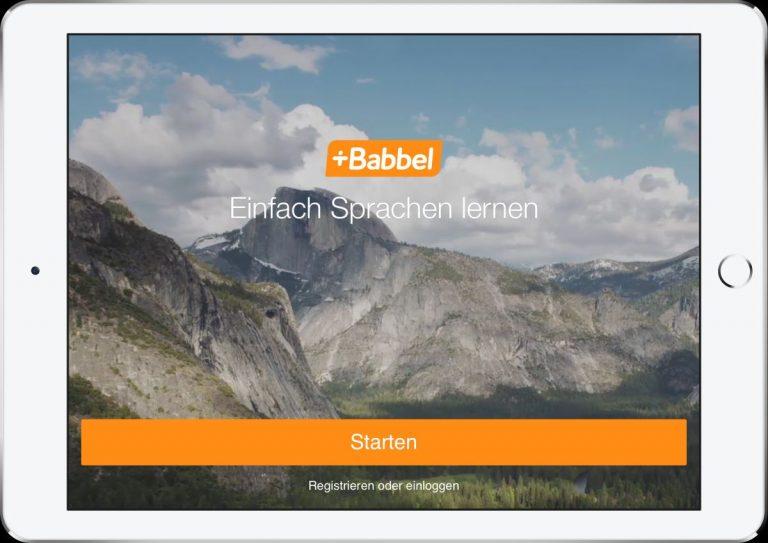 Sprachlern-App Babbel