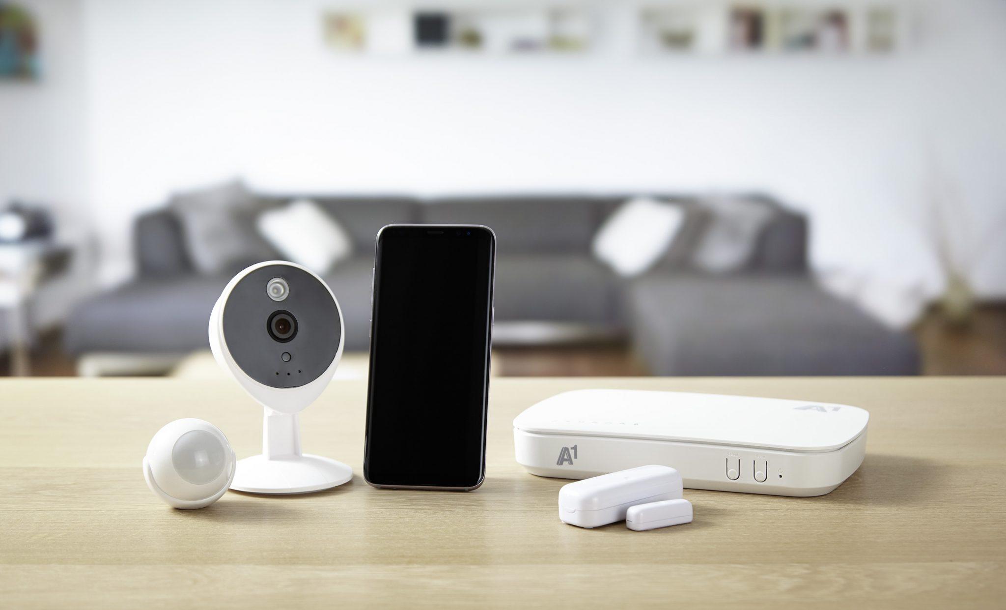 Wie A1 Smart Home Ihr Familienleben sicherer macht