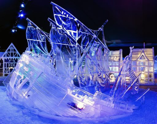 Eisskulpturen Ausstellung Linz Ice Magic