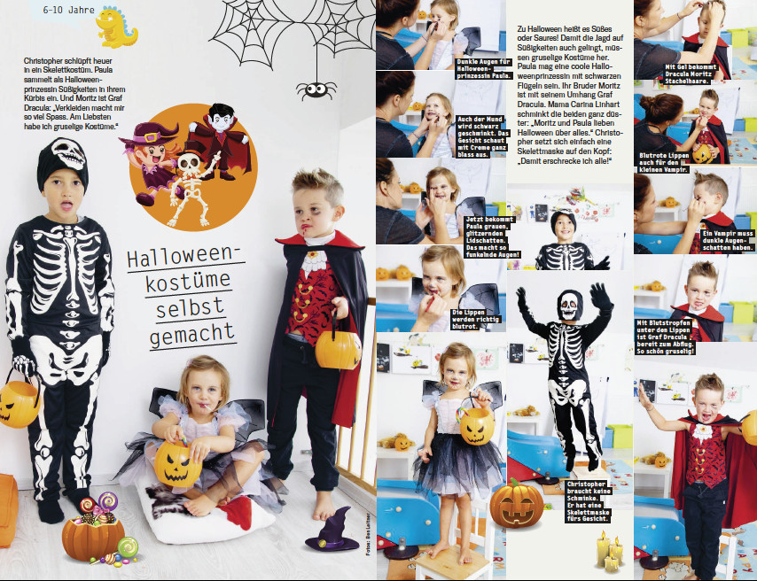Diy Halloween Kostüme Selber Basteln Hello Familiii