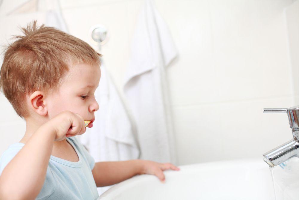 zahnpflege alter kinder