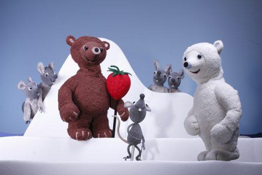 Eisbär, Erdbär und Mausbär