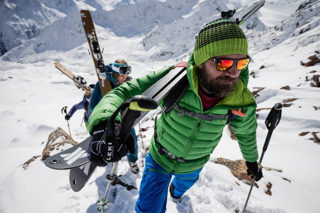 Ab ins Gelände: Im Drei-Tages-Camp bietet Extrembergsteiger Stephan Keck einen