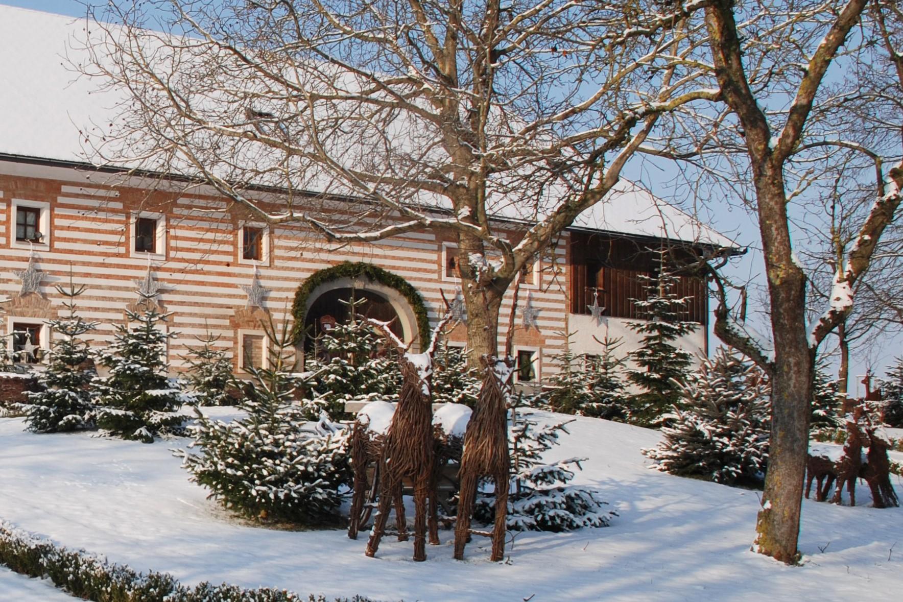 beschauliches weihnachten am bauernhof in sierning hello. Black Bedroom Furniture Sets. Home Design Ideas