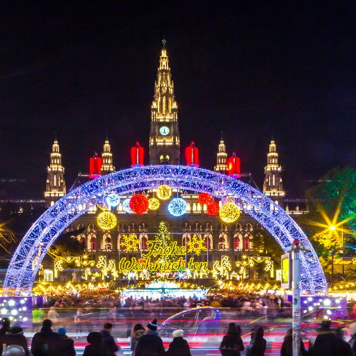 Wiener Weihnachtstraum Eingangsbereich
