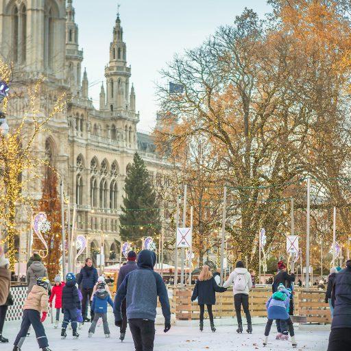 Wiener Weihnachtstraum Eislaufen