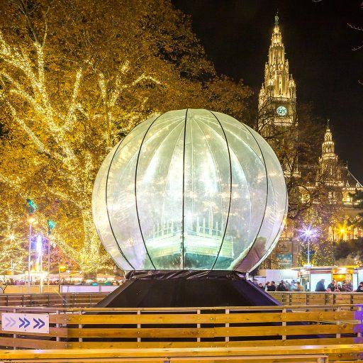 Wiener Weihnachtstraum Glaskugel