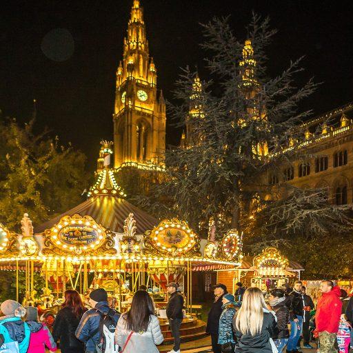 Wiener Weihnachtstraum Kinderkarussell