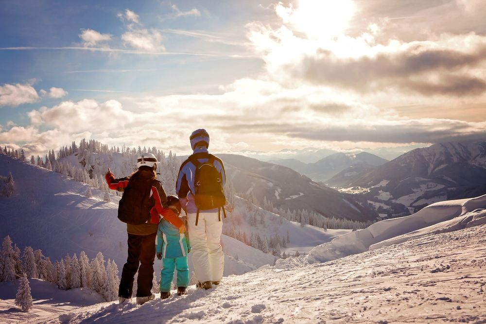 skifahren kinder österreich günstig