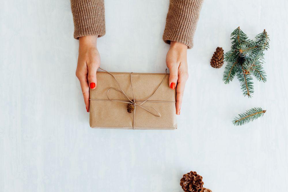 zero waste verpackung geschenke