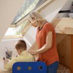 Velux Dachflächenfenster im Kinderzimmer, Bild 3