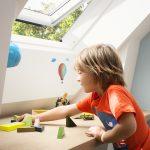 Velux Dachflächenfenster im Kinderzimmer, Bild 4