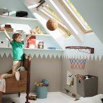 Velux Dachflächenfenster im Kinderzimmer, Bild 5