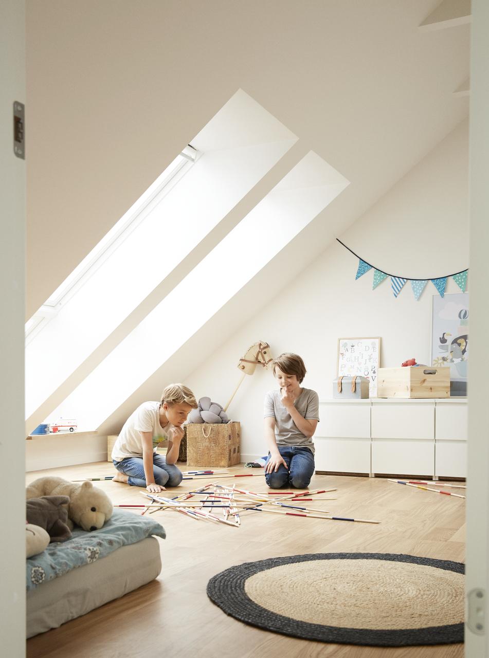 Velux Dachflächenfenster im Kinderzimmer, Bild 6