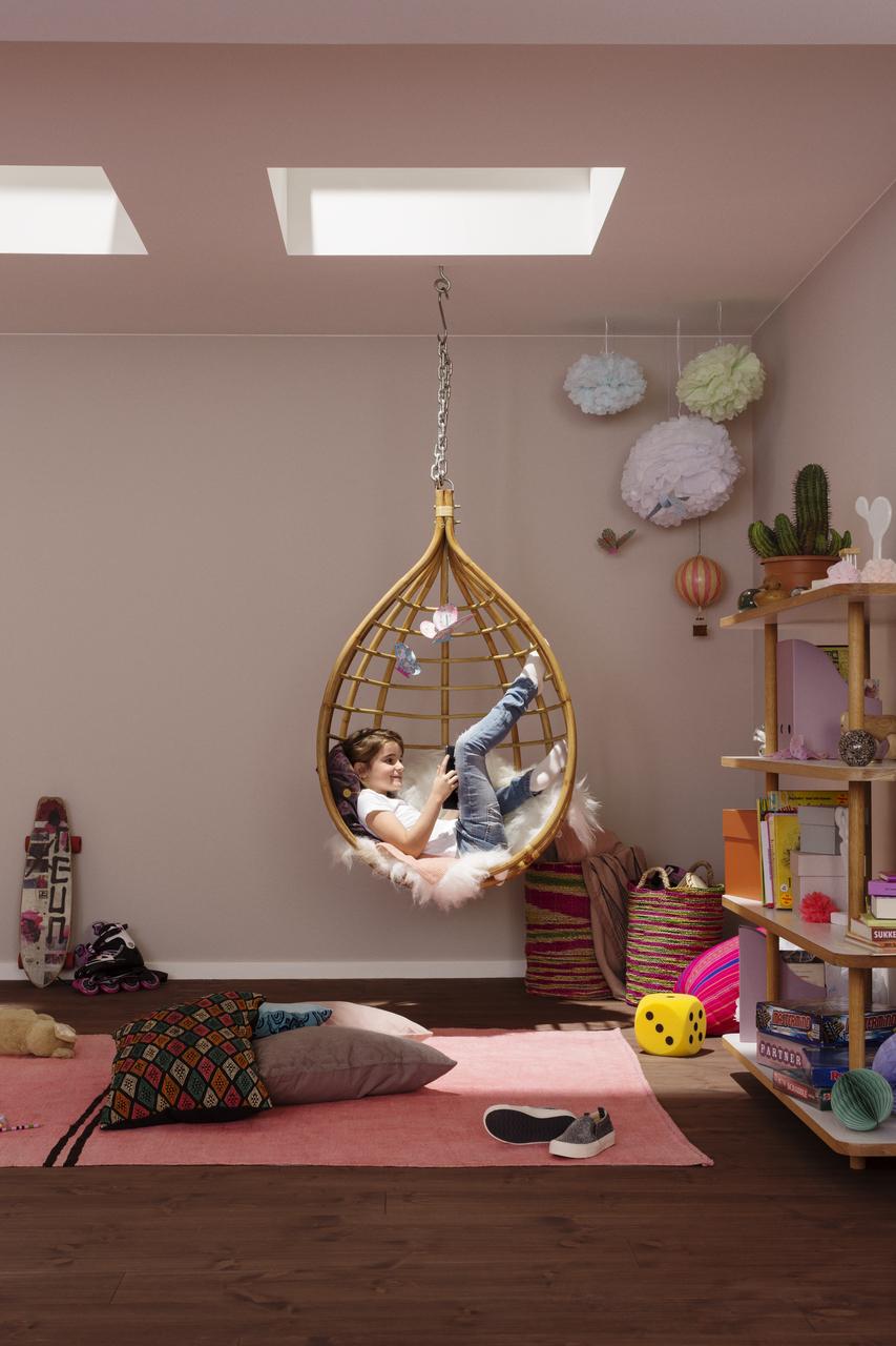 Velux Dachflächenfenster im Kinderzimmer Bild 7
