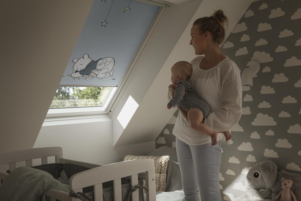 Velux Dachflächenfenster im Kinderzimmer Bild 9