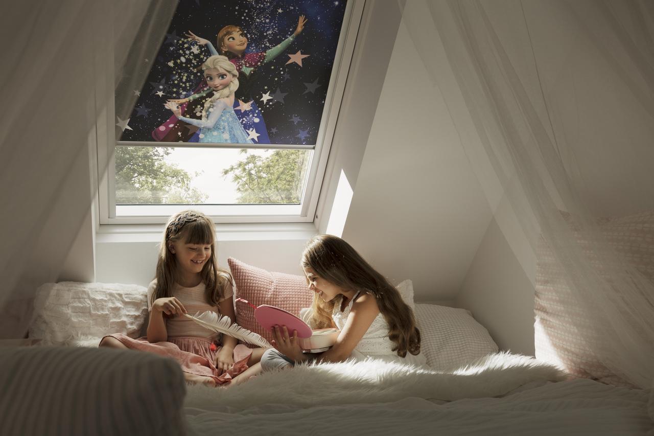 Velux Dachflächenfenster im Kinderzimmer Bild 10