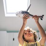 Velux Dachflächenfenster im Kinderzimmer Bild 11