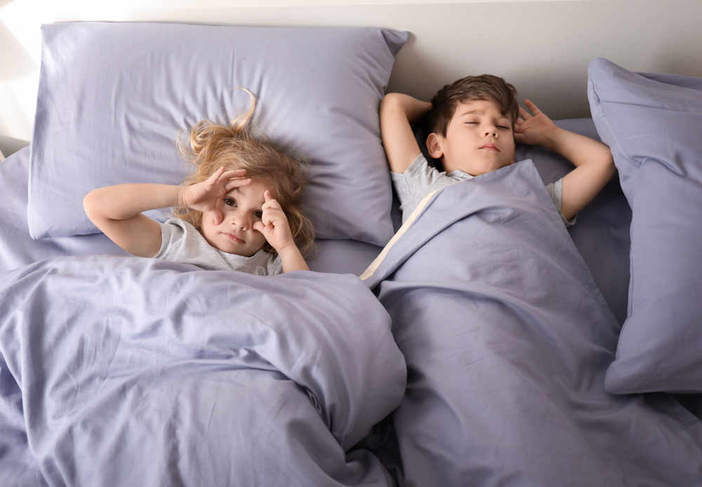 Kinder schlafend