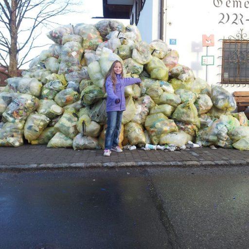 Müllsammelaktion mit Vanesse Bosse
