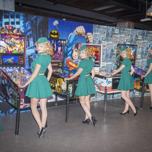 Batman Flipper superlimted ,mit Lucylogogirls im Superhero Bereich des TT