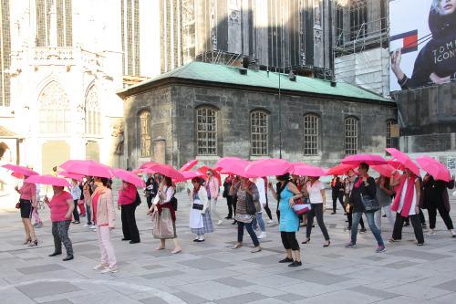 Flashmob_Europa Donna