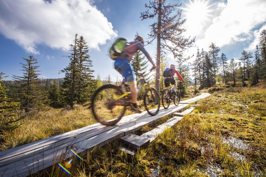 biker_auf_der_mountainbike-strecke st._margarethen