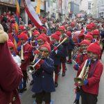 Traditionelle Hexenmusik beim Imster Schemenlauf