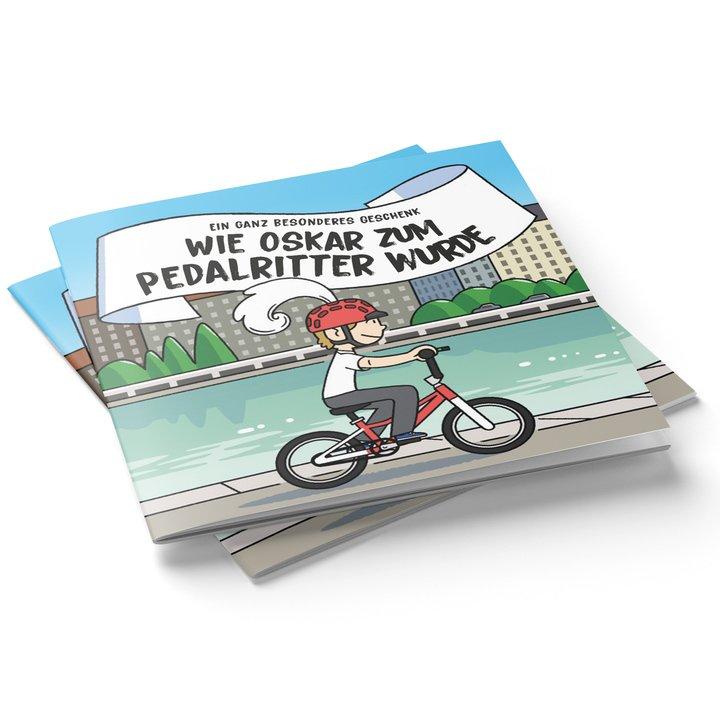 Pedalritter Oskar woom_kids_book