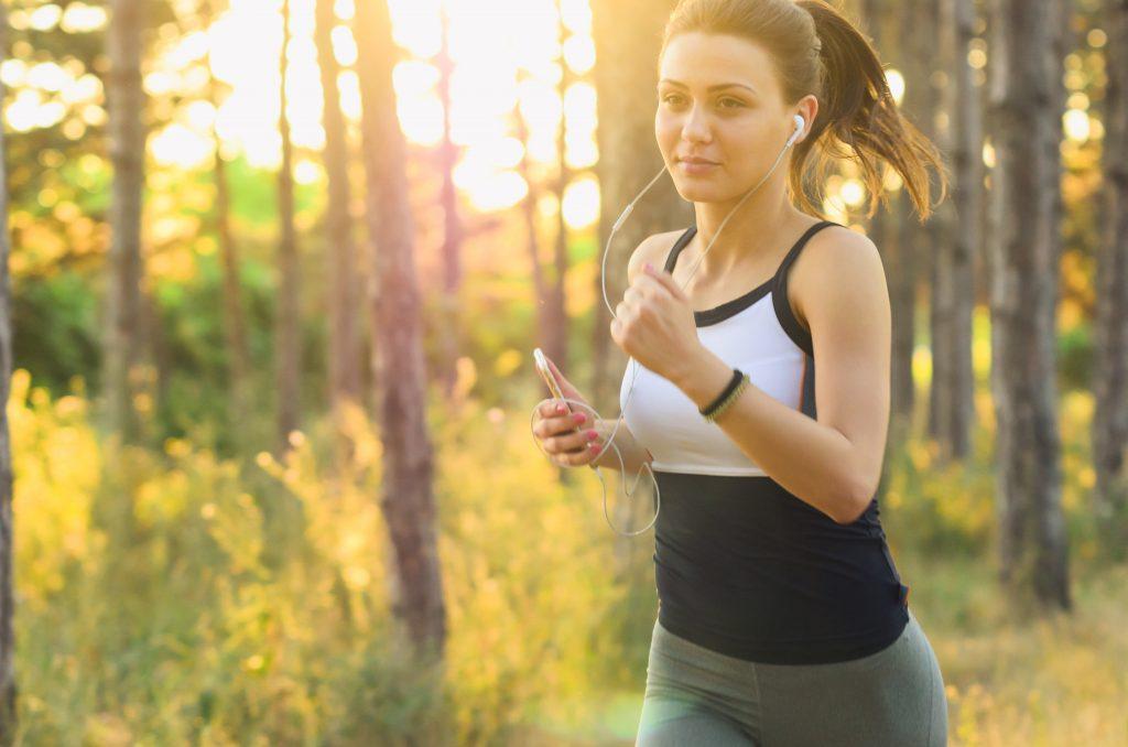 Frau beim Laufen AGR e.V.