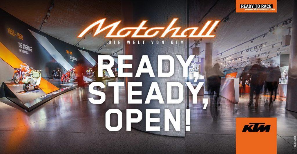 KTM Motohall Wiedereröffnung