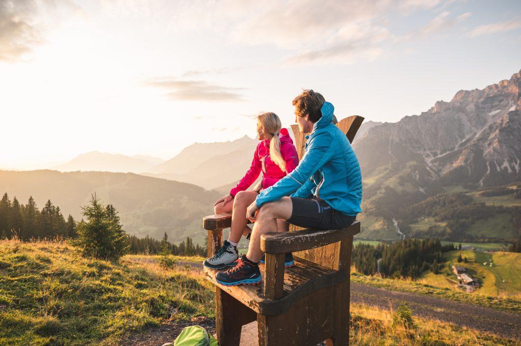 Sehnsuchtsort Hochkönig: Sommerurlaub mit Bergpanorama