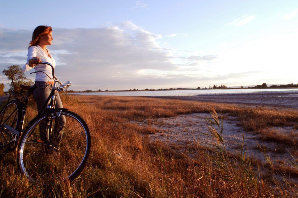 So entspannend: Radeln im Herbst in DER Radreise-Region in Österreich, der Region Neusiedler See. Rund um den See oder entlang der Lacken - eine echte Wohltat für die Seele.