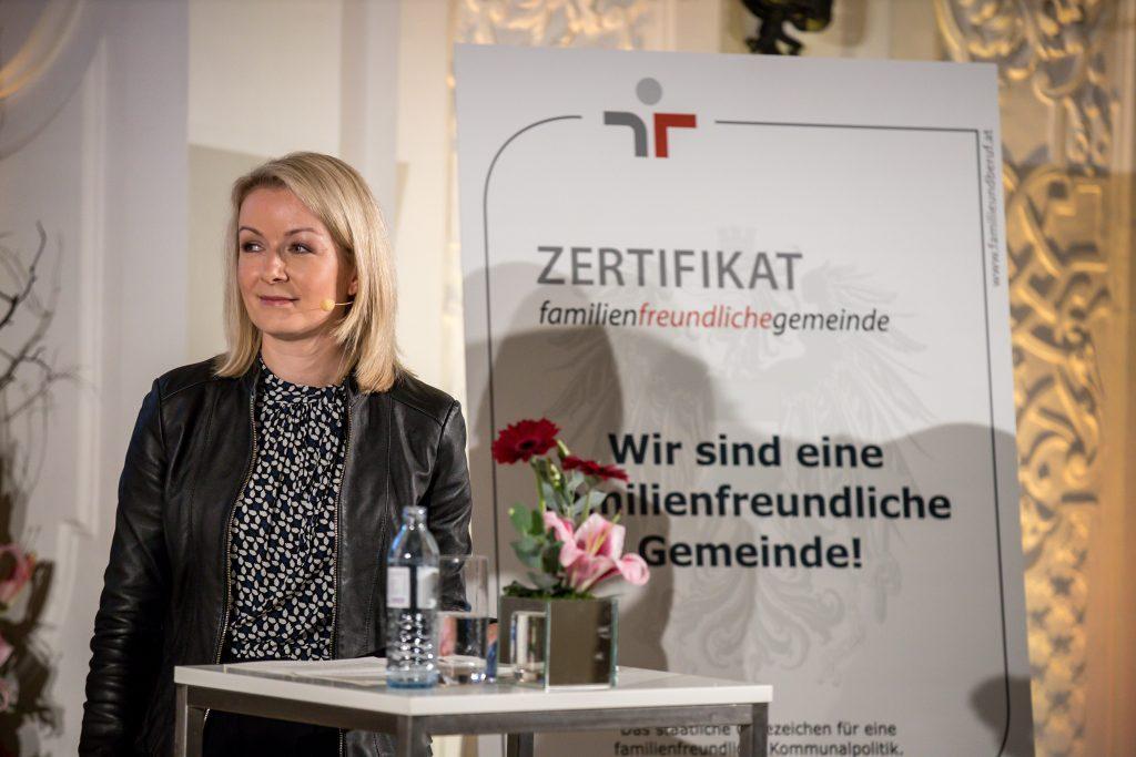 Generalsekretärin im Bundesministerium für Arbeit, Familie und Jugend Bernadett Humer, MSc © Harald Schlossko