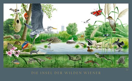 Insel der wilden Wiener
