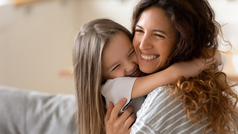 Kind und Tagesmutter